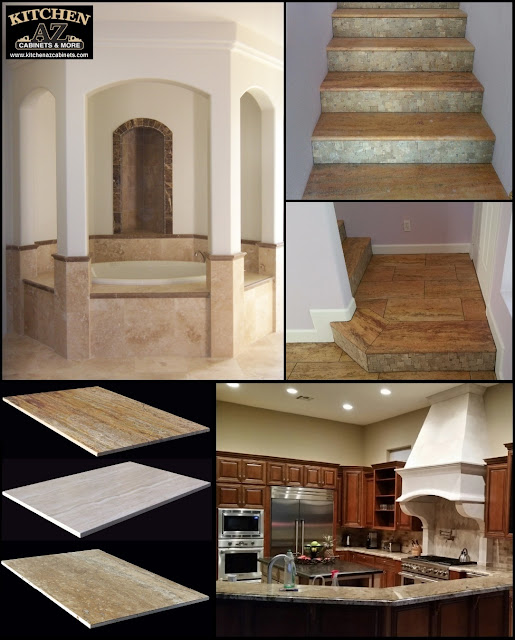 Travertine Tile Finishes for Flooring in Phoenix
