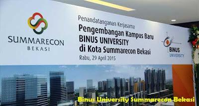 Binus University Summarecon Bekasi