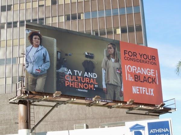 Orange is the New Black season 2 FYC billboard