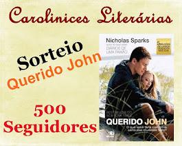 SORTEIO CAROLINICES LITERÁRIAS