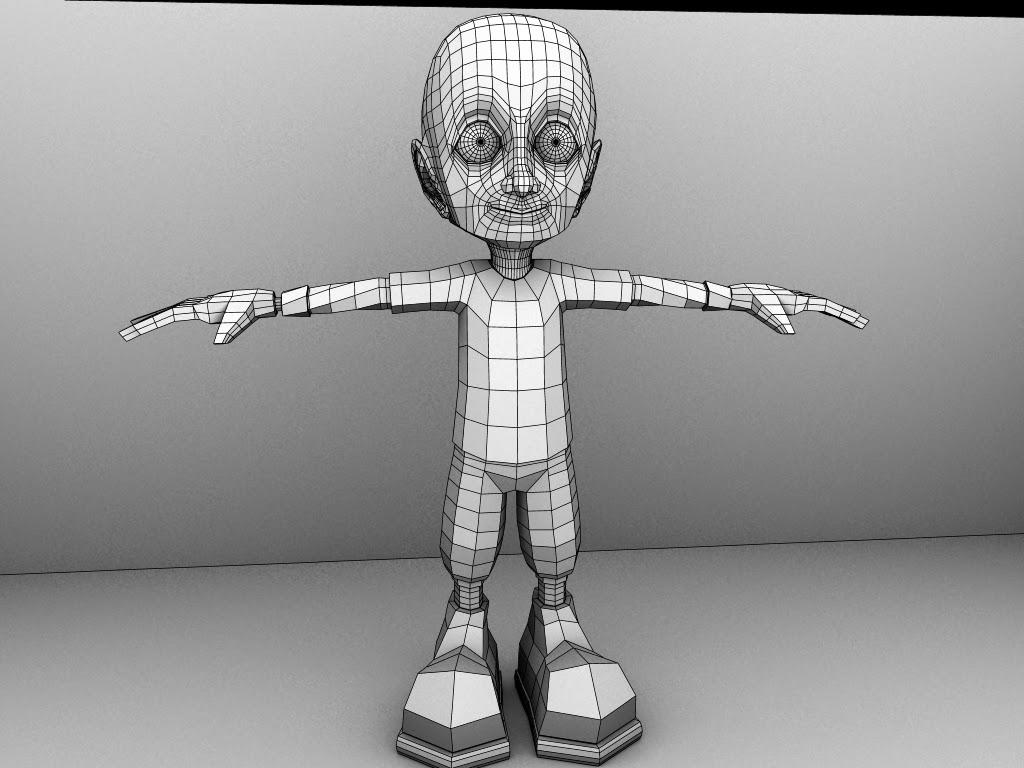 3D Models In Autodesk Maya: September 2014