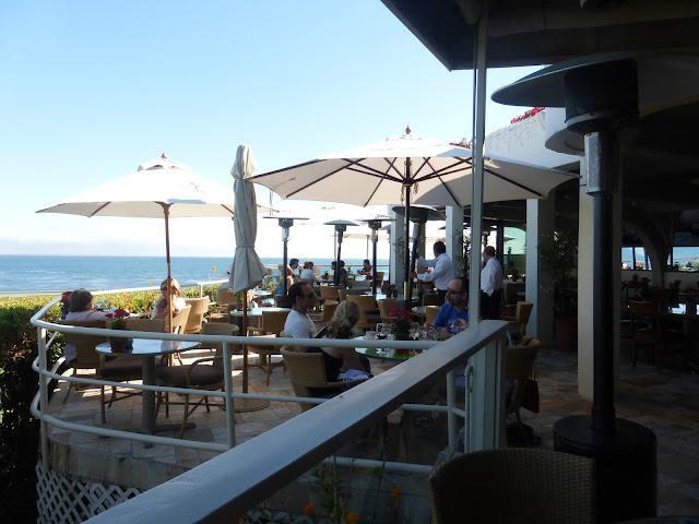 Geoffrey's Malibu Scene overlooking the ocean great food