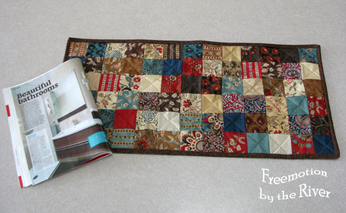 Project quilting challenge Freemotion by the River