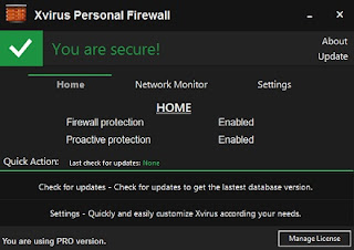 Download Xvirus Personal Firewall 4.0.2