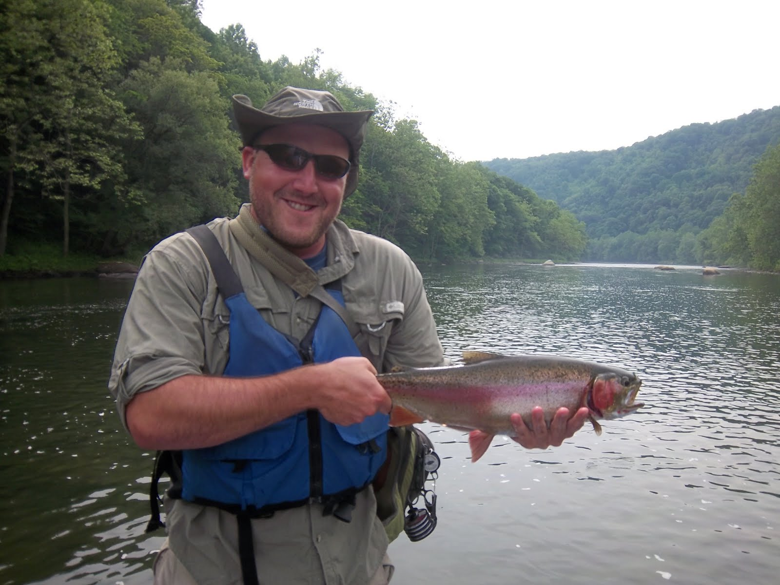 Grobe anglers and adventures big rainbow for Youghiogheny river fishing