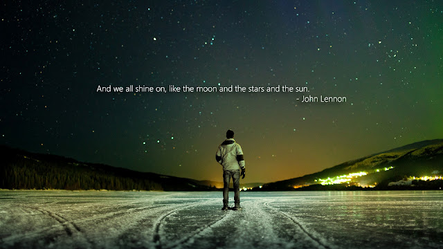 john lennon, beetles, space wallpapers