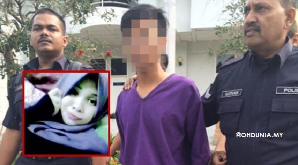 Remaja disyaki bunuh Intan Suraya Mawardi ditahan direman 7 hari