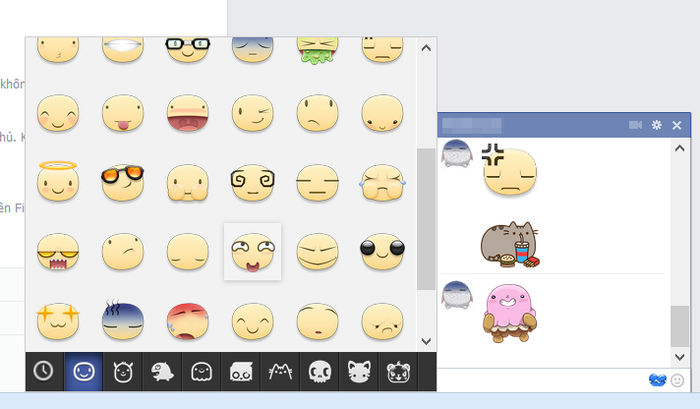 Cara Mengirim Sticker dan Emoticon di Facebook