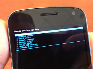 galaxy nexus android 4.1 installation