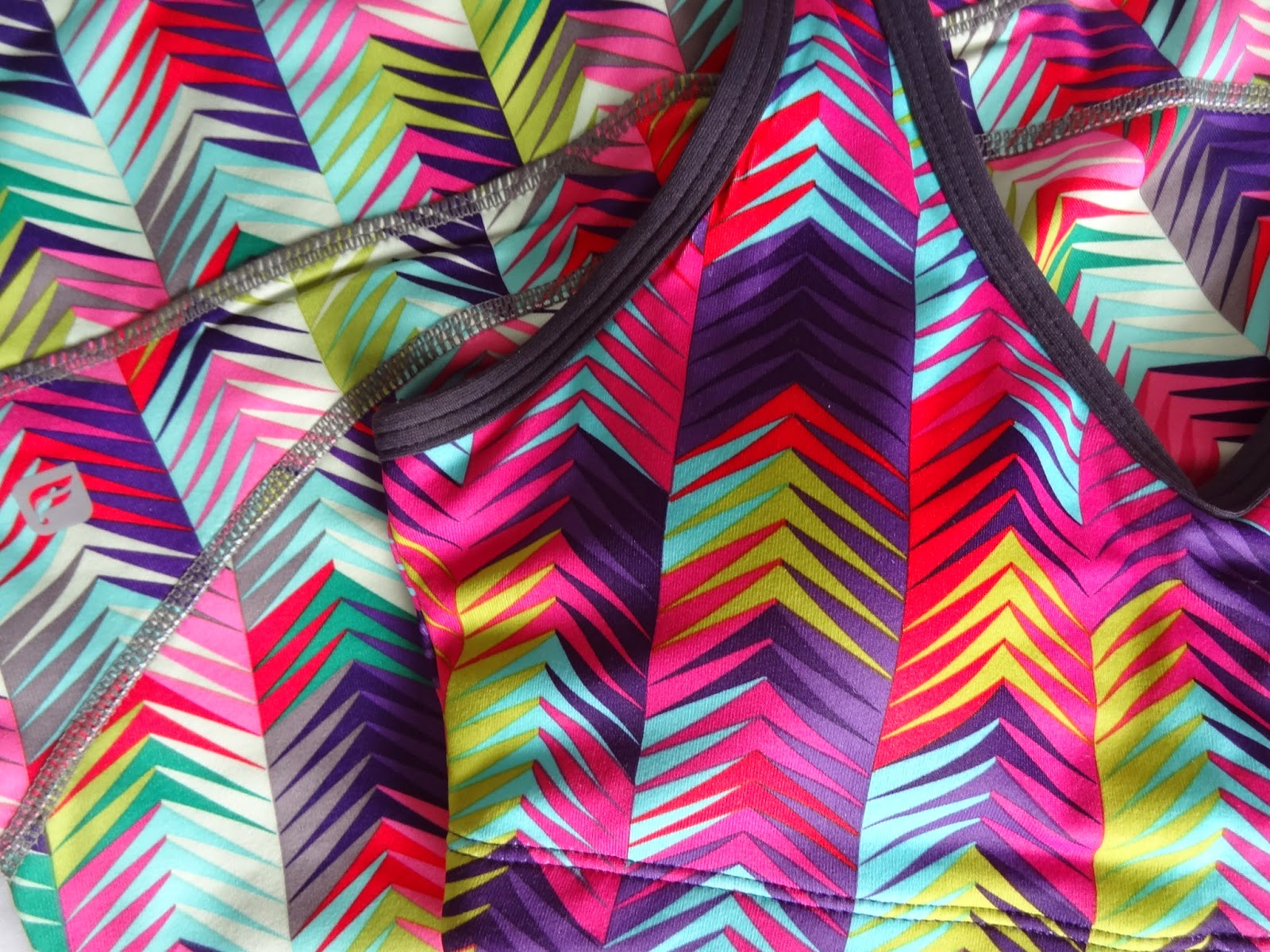 Fabletics Activewear High Intensity Print Clash