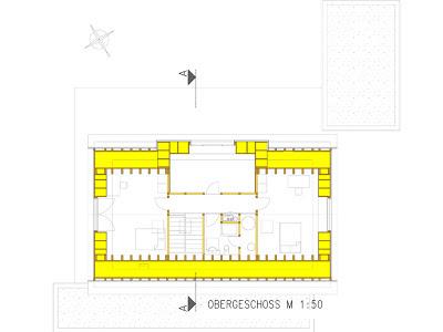 План дома второй этаж
