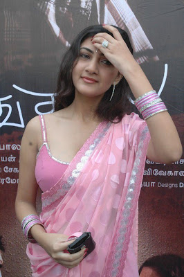 Tamil Actress Neelam Hot Saree Blouse Photos