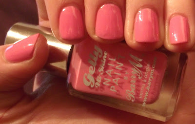 New Barry M Gelly Hi- Shine Nail Paint Polish Swatch- 303 Dragon Fruit GNP 11