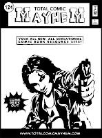 Total Comic Mayhem t-shirt image