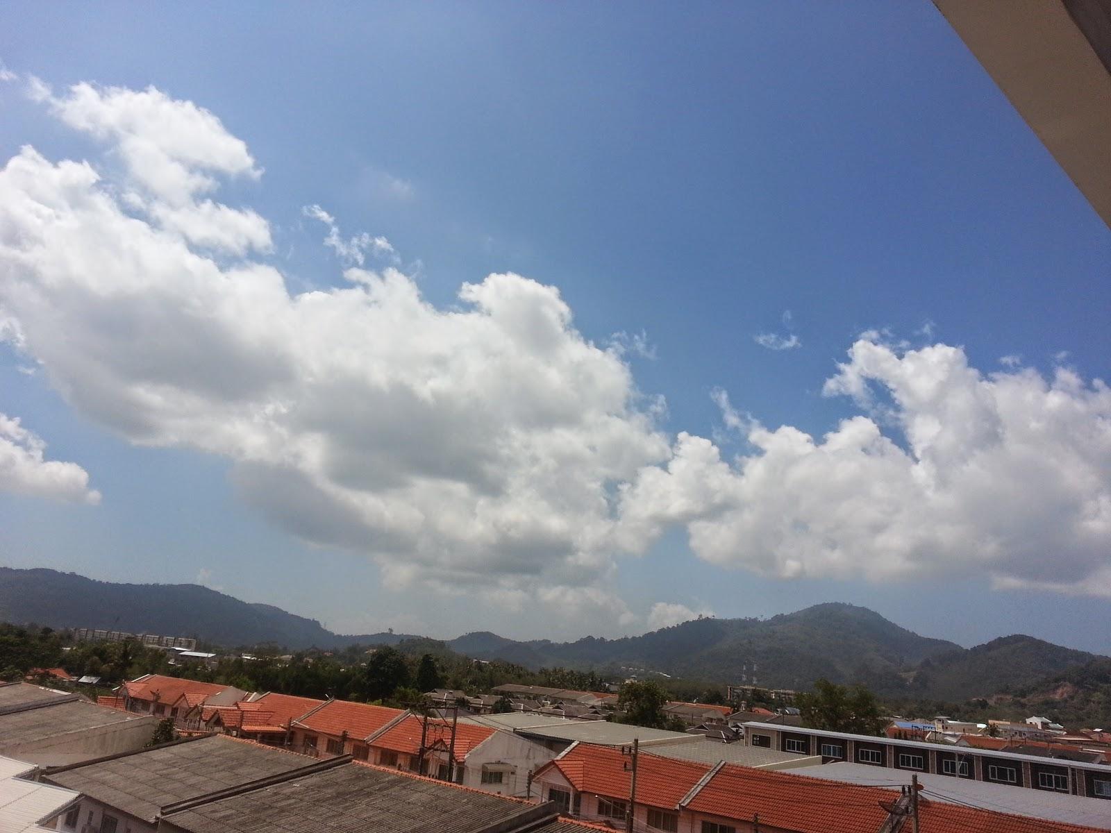 Panorama of Kathu -Phuket