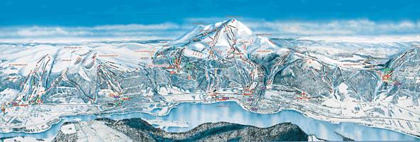 lyžiarske stredisko Åre skimapa