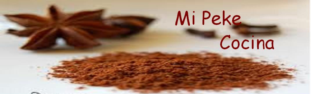 Mi peke cocina
