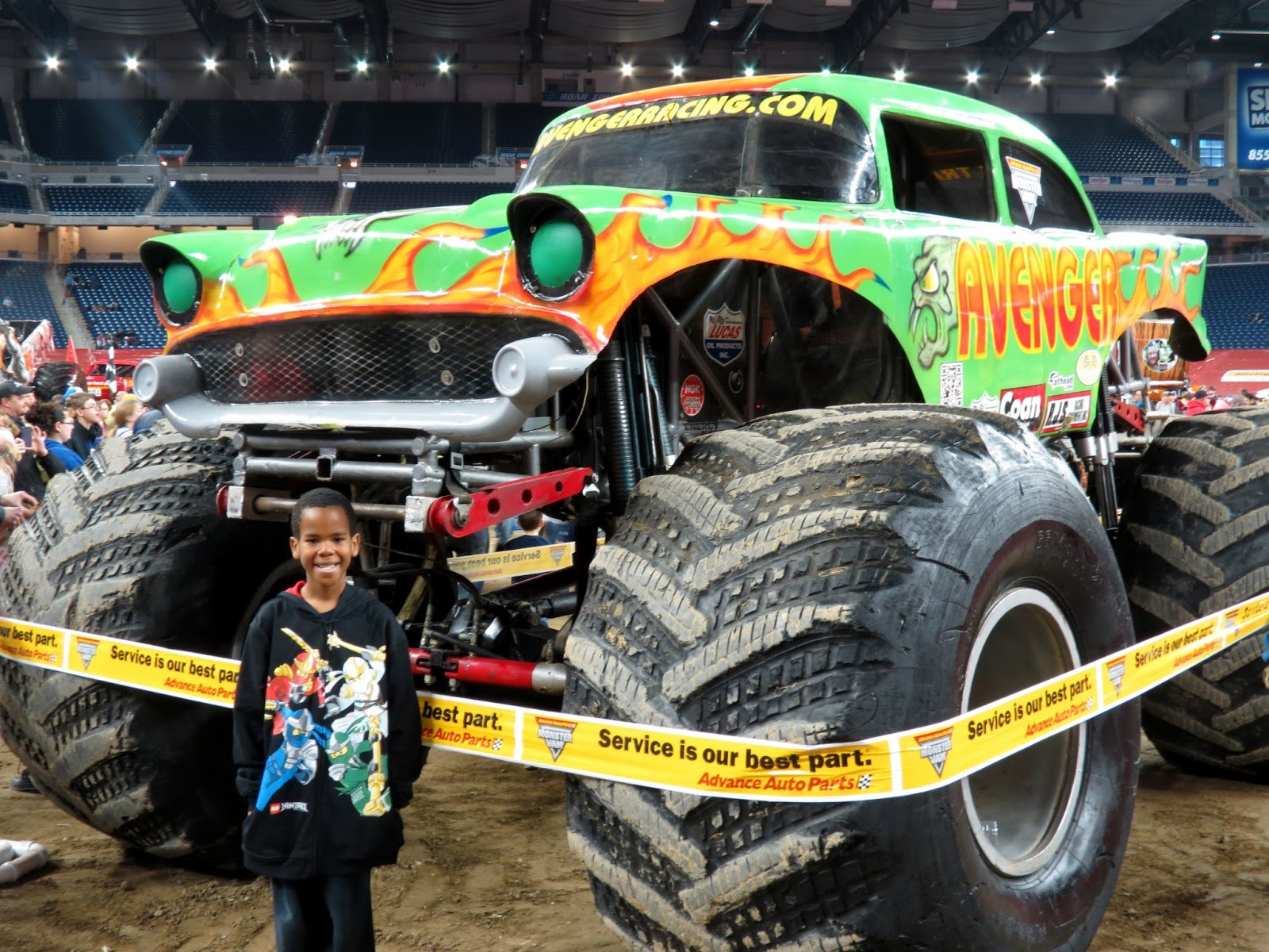 monster truck jam ford field autos post. Black Bedroom Furniture Sets. Home Design Ideas