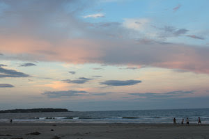 Sunset over Mỹ Khê beach