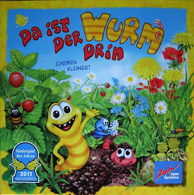 Da ist der Wurm drin - The box artwork