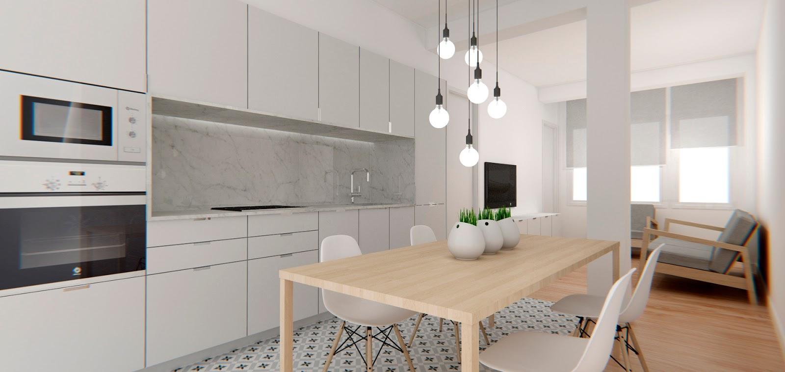 Reforma de apartamento en valencia dg arquitecto valencia for Estudio de arquitectura