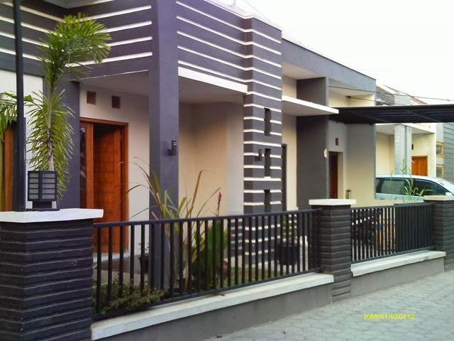 Gambar Rumah Minimalis Bagian Depan  Desain Rumah Minimalis