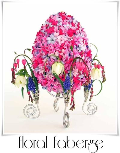 faberge, floral faberge, faberge med blommor, faberge ägg