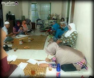 Suasana Pengajian Ibu-Ibu