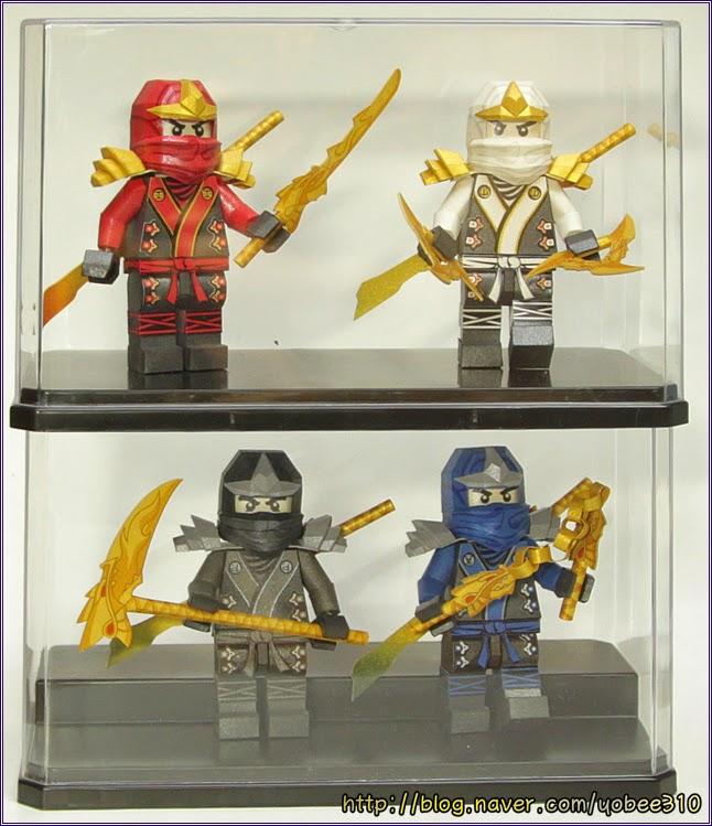 Lego Ninjago Papercraft