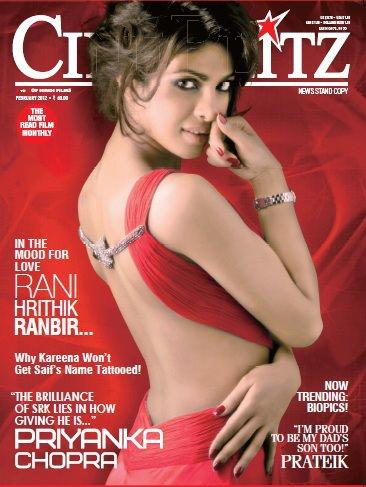 Cineblitz on Cineblitz cover1 - Priyanka Chopra on Cineblitz Cover - feb 2102