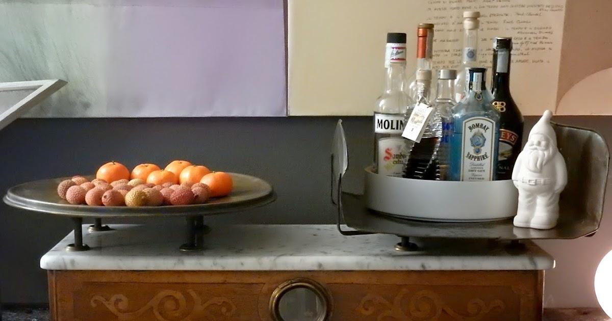 Details of us una bilancia antica come angolo home bar - Ikea bilancia cucina ...