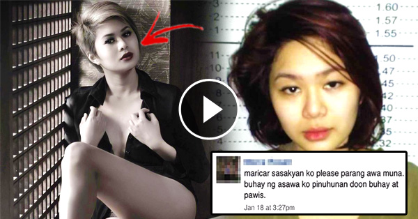 Freelance Model Tagged As The Most Beautiful Carjacker After Being Arrested In Quezon City!