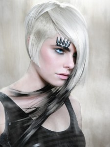 Edgy Long Hair Styles ~ Black hairstyle