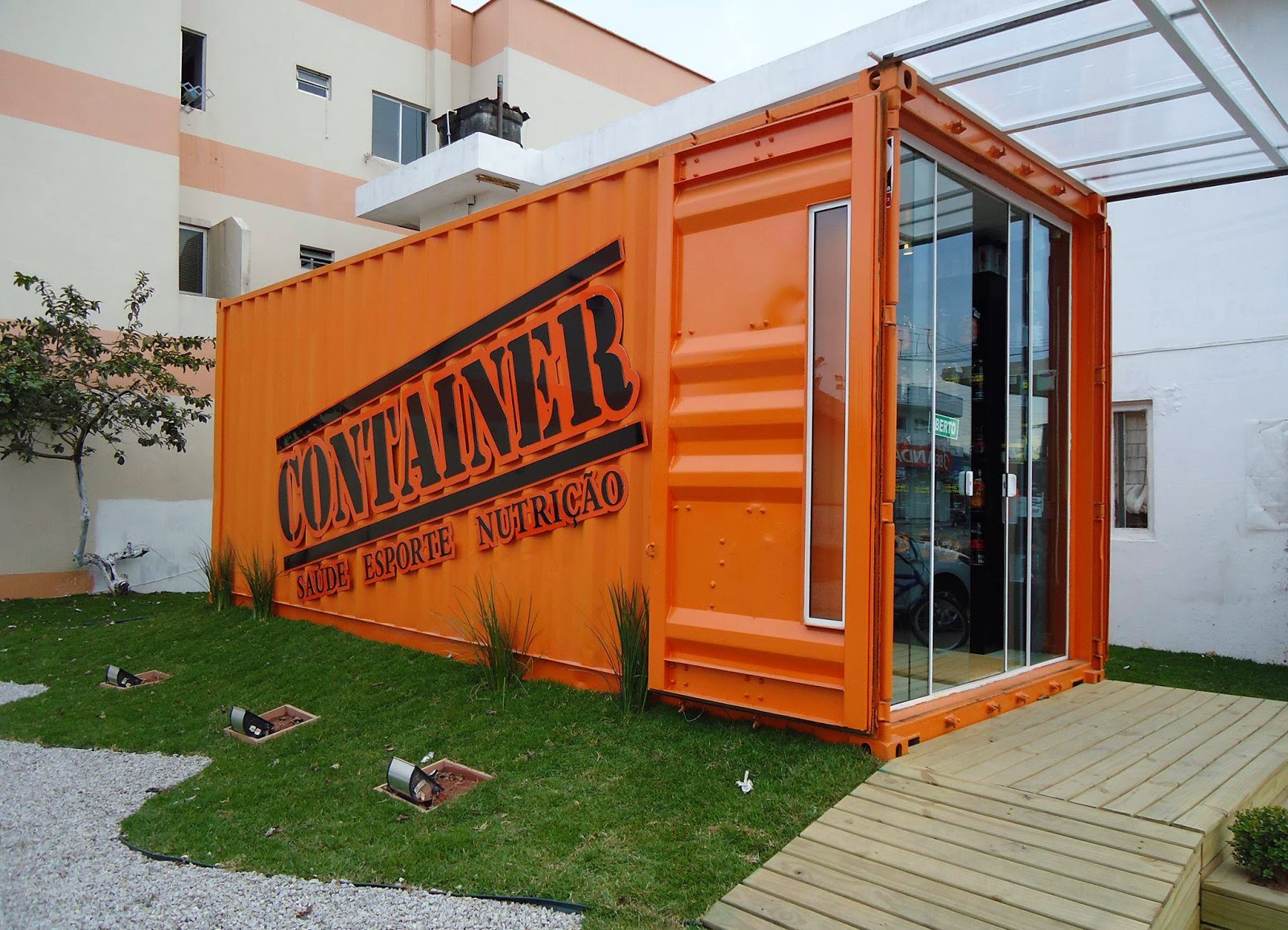 Container: Um Novo Conceito em Arquitetura Sustentável: Na cidade de  #BB4610 1600x1155 Banheiro Container Locação Sc