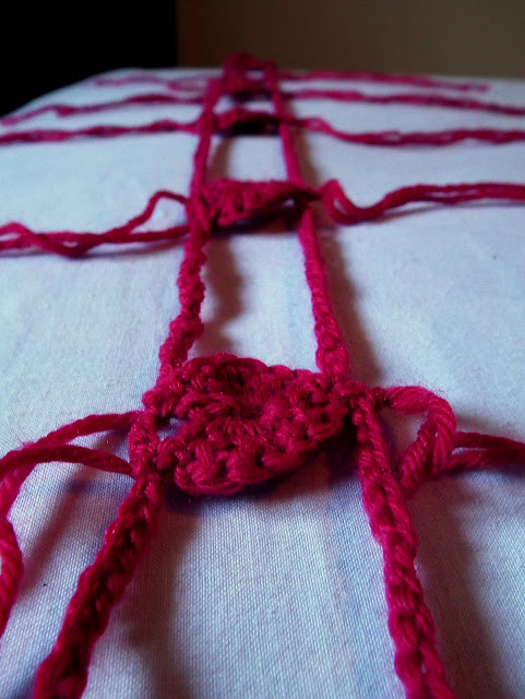 Yarn Bombing, Valentines, #SheepishHeartBomb