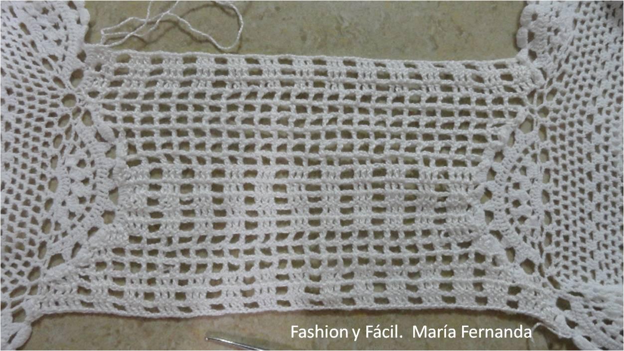 Como hacer un camino de mesa tejido a crochet - Camino de mesa elegante en crochet ...
