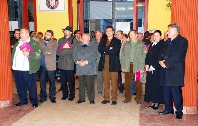 Cluj-Napoca, 22 octombrie 2009 - La evenimentul lansării de carte a lui Constantin Arvinte.