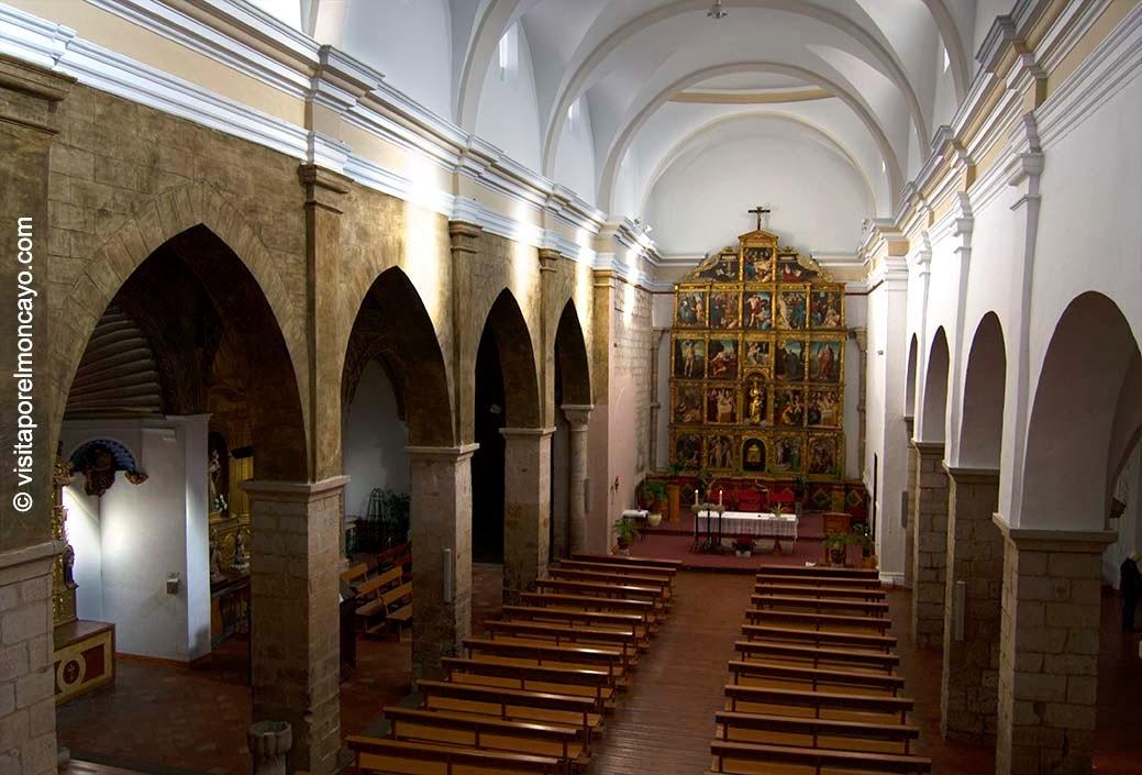 Iglesia Santa María Magdalena Tarazona Mudéjar Aragonés