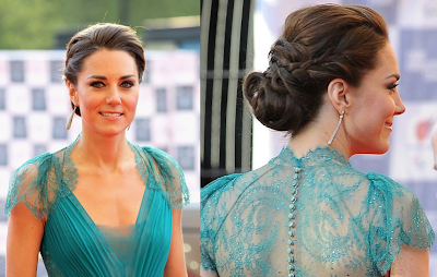 Kate Middleton in Jenny Packham dress|London 2012's Olympic and Paralympic Gala Night