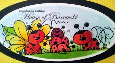 Diecut Divas, Bugaboo Digi Stamps ladybug line