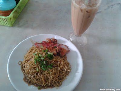 Kon Loh Noodle with Teh C Ice