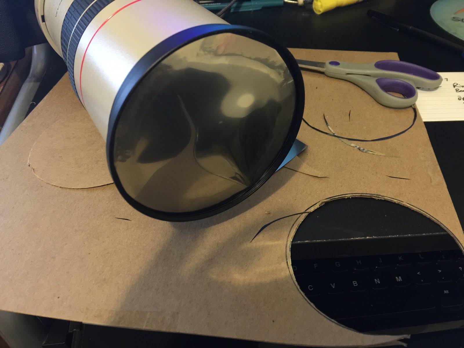 Как сделать солнечный фильтр для телескопа 86