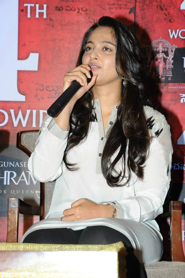 Rudhramadevi Release Day Press Meet HD images | Anushka | Gunashaker