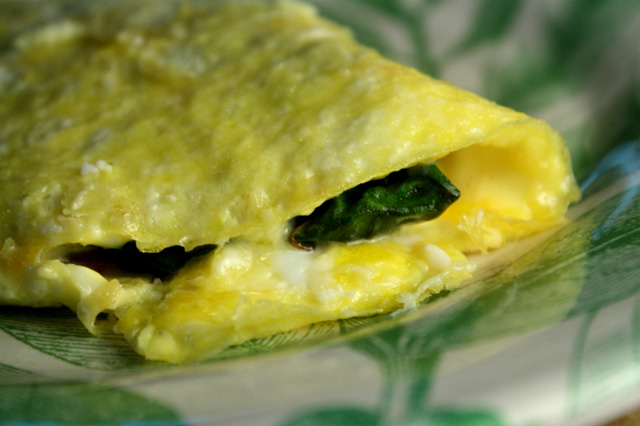 ... omelet, give The 99 Cent Chef's Swiss Chard and Cheese Omelet a go