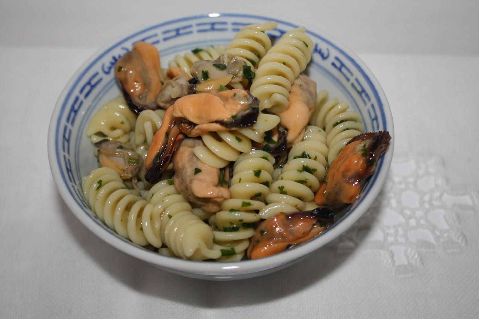 Ricette pasta fredda con vongole