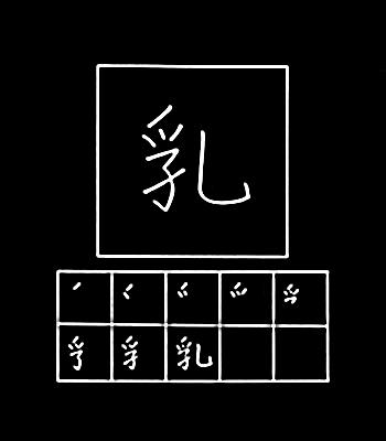 kanji susu