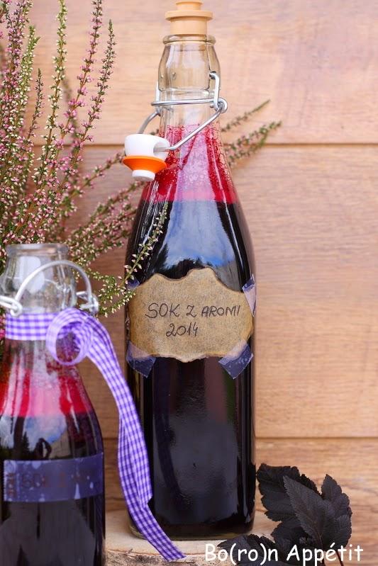 Przepis na sok z aronii