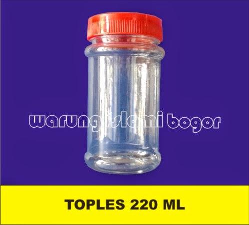 Jual Botol Toples manisan 220ml