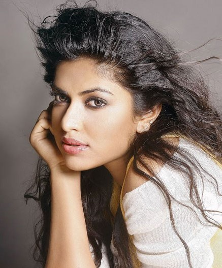 SEXY STILLS OF MALLU ACTRESS AMALA PAUL IN SAREE glamour images