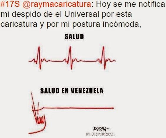 La última caricatura de Rayma en El Universal